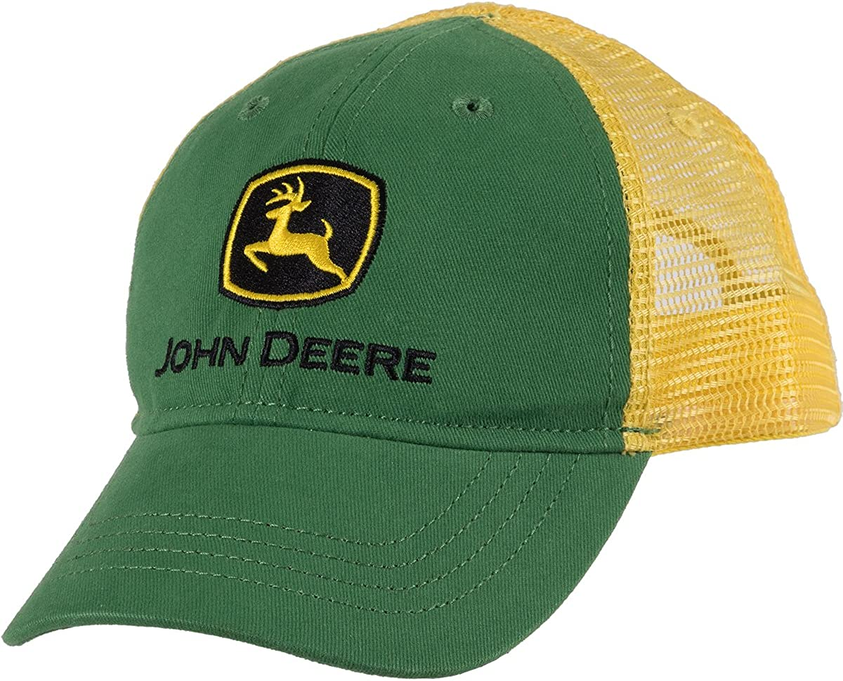 John Deere Boys Trademark Trucker Ball Cap: Amazon.es: Ropa y ...