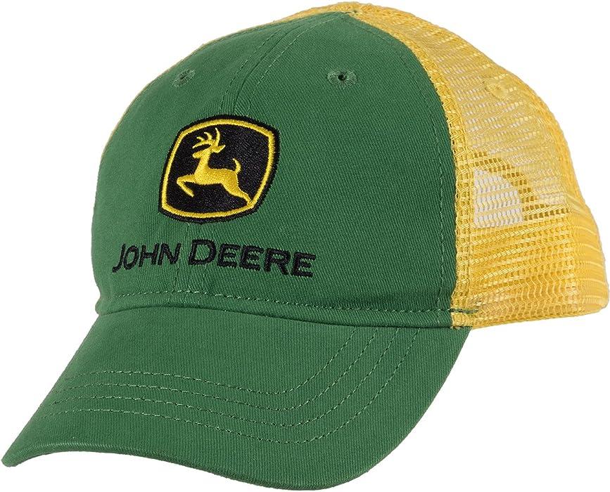 c7d3c806408 Amazon.com  John Deere Toddler Boys  Trademark Trucker Ball Cap ...