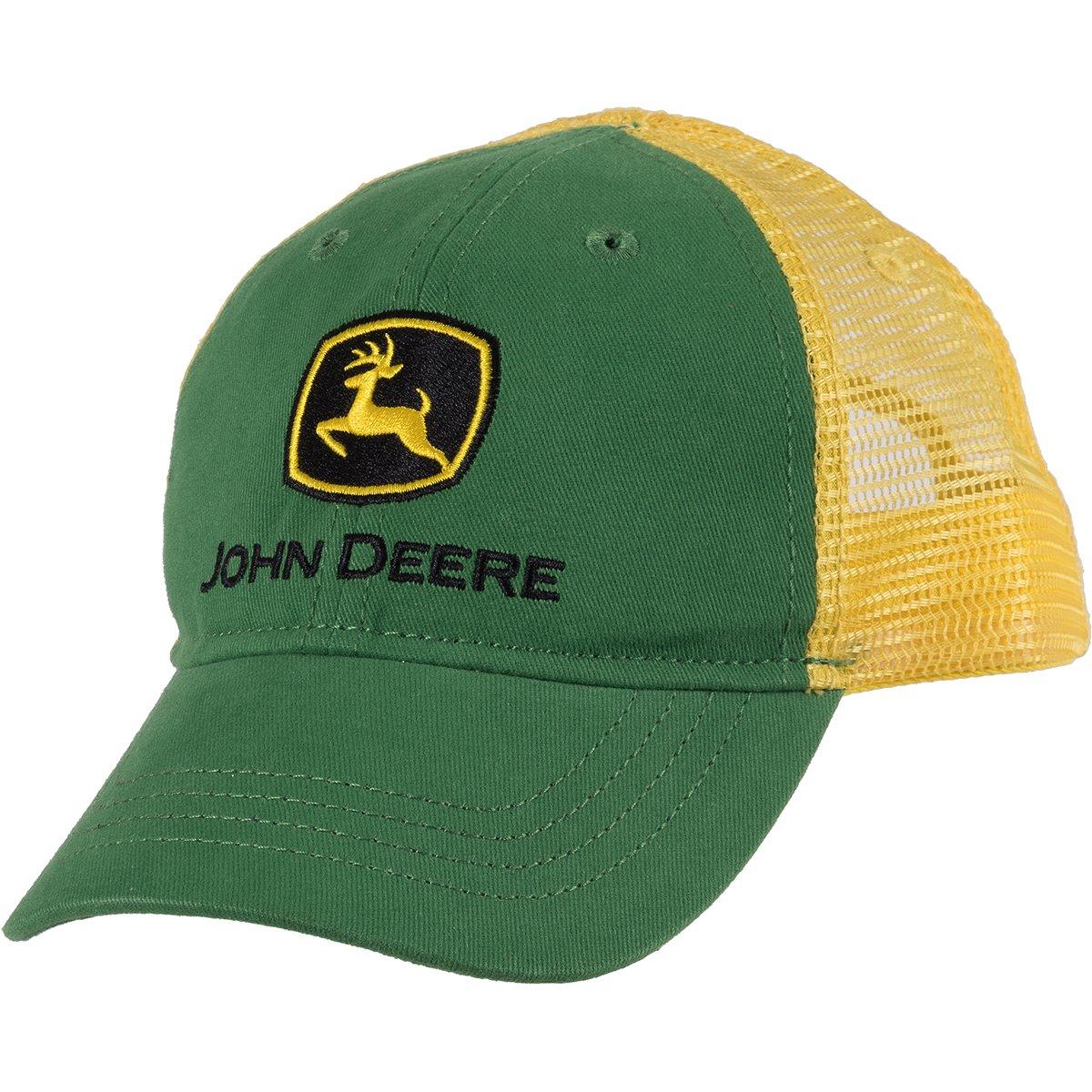 John Deere Toddler Boys' Trademark Trucker Ball Cap, Green, Toddler by John Deere