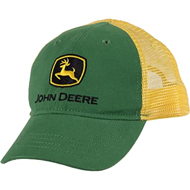 Amazon.com  John Deere Boys  Trademark Trucker Ball Cap  Clothing 923bd98efab