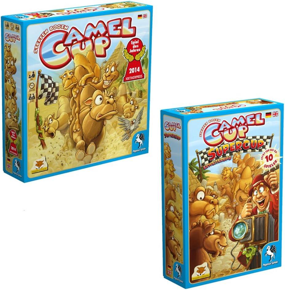 Pegasus 54548G - Juego de Tablero (20 min, 30 min, 8 año(s), CE, 1,71 kg, 295 mm): Amazon.es: Juguetes y juegos