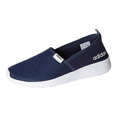 5a97ce00d764 Adidas Women Cloudfoam Lite Racer Slip On Shoes