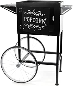 Paramount Popcorn Machine Cart/Trolley - [Color: Black]