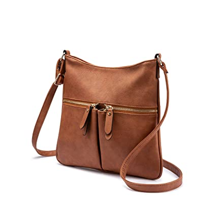 249d040498 Sac Bandouliere Femmes Sac Cuir Synthétiqu Sac Besace Petit Sac a Main  Femmes(Marron): Amazon.fr: Bagages