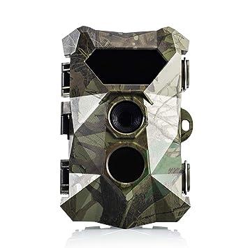 Favoto Cámara de Caza Vigilancia 12MP 1080P IP66 Impermeable 940NM PIR Sensor de Movimiento 0.5s
