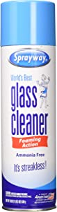 Sprayway Streakless Glass Cleaner 19 oz (3 Pack) Made in USA Brand New and Fast Shipping, Blue and White