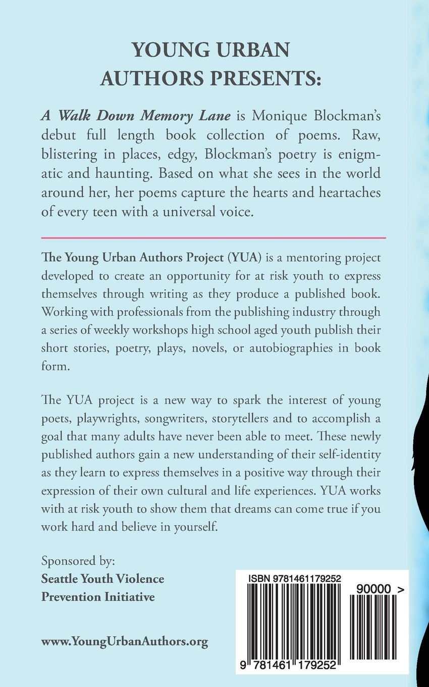A Walk Down Memory Lane: A Young Urban Authors Publication