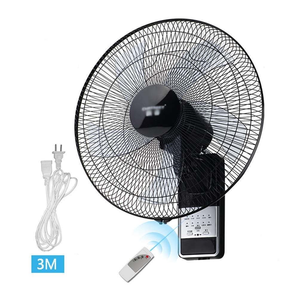 Wandventilator Ventilator 3-Gang-Schaukel Gr/ö/ße: 16 // 18inch 60W Energie//Home Industrie B/üro leisere L/üfter