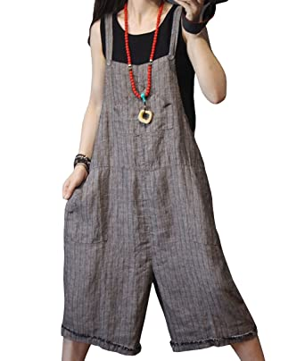 0db548e1c6 Amazon.com  YESNO P21 Women Rompers Cropped Pants Trousers Casual Wide Leg  Low Crotch Loose Fit  Clothing