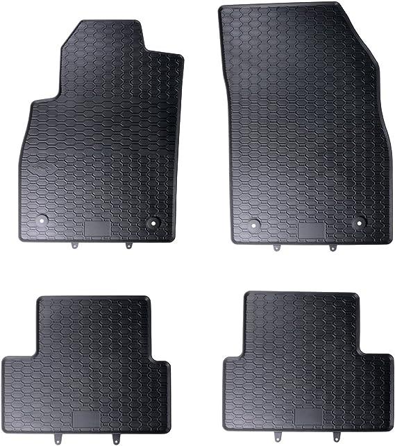 Geyer Hosaja 4 Jahreszeiten Fahrzeugspezifische Gummi Fußmatten Schwarz Kpl Auto