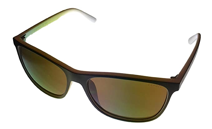 98058a5a02f Amazon.com  Esprit Women s 1944856535 Wayfarer Sunglasses Brown 56 ...