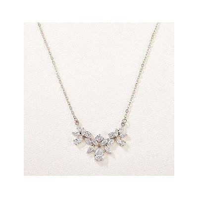 Dainty rose gold Cubic  zirconia back necklace wedding bridal back drop necklace bridal jewellery wedding jewellery bridesmaid bridal neckla