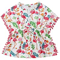 US Toddler Kids Baby Girls Cotton/&Linen Dress Beach Sundress Swimwear Cover Up