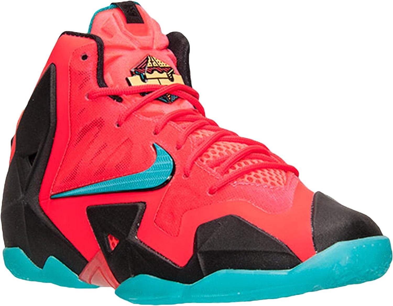Zapatillas de baloncesto LeBron 11 GS de ni?o Laser Crimson ...
