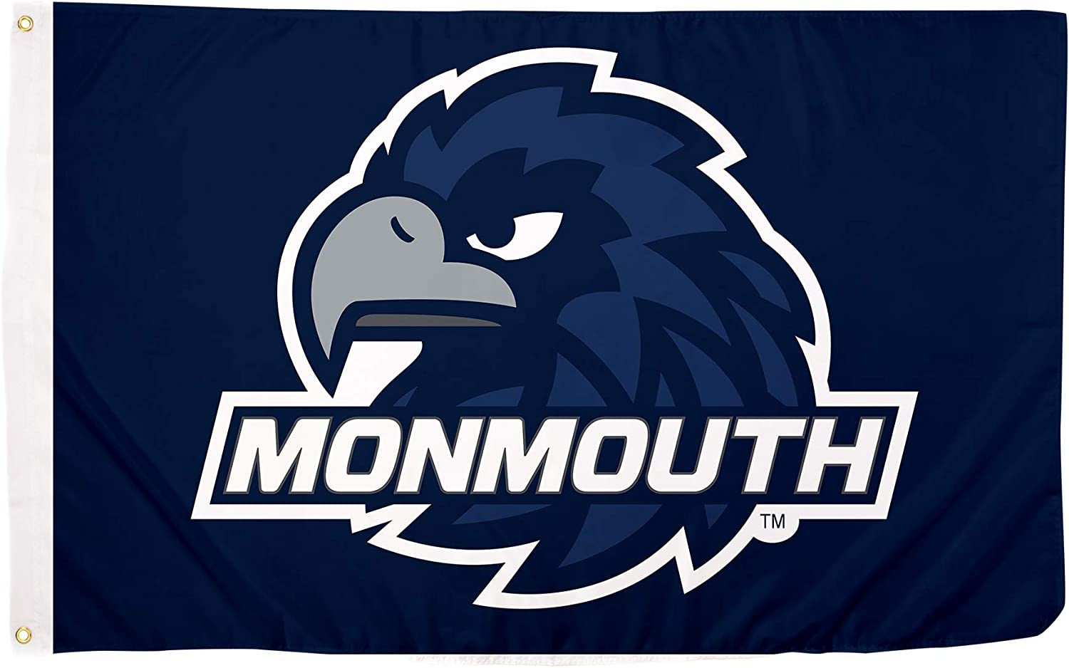 Desert Cactus Monmouth University Hawks NCAA 100% Polyester Indoor Outdoor 3 feet x 5 feet Flag