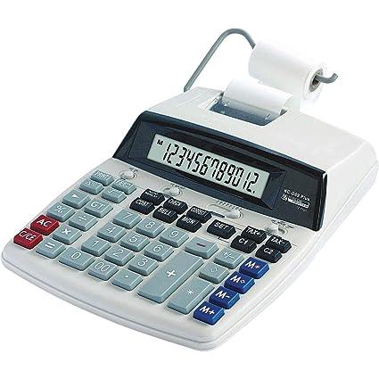 5 Star 12 dígitos calculadora de bolsillo y impresora ...