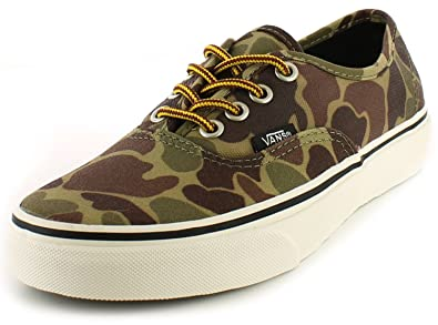 a56056252f Vans New Unisex Camouflage Authentic Camo Training Shoes Trainers. - Waxed  Canvas - UK