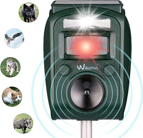 Energie Solaire PIR Capteur De Mouvement À ULTRASONS Répulsif oiseau Dog Cat Souris F