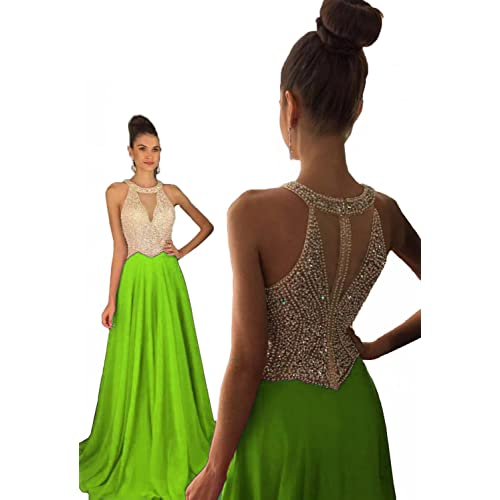 Lime Green Prom Dress: Amazon.com