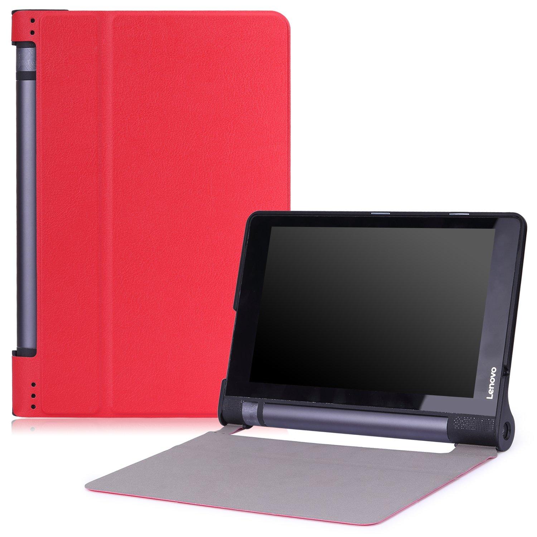 MoKo Funda para Lenovo Yoga Tab3 8 - Ultra Slim Lightweight Función de Soporte Protectora Plegable Smart Cover Durable para Lenovo Yoga Tab 3 8 ...