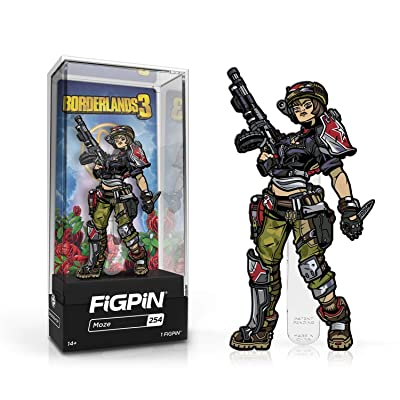 Figpin Borderlands 3 Moze Collectible Pin #254: Toys & Games