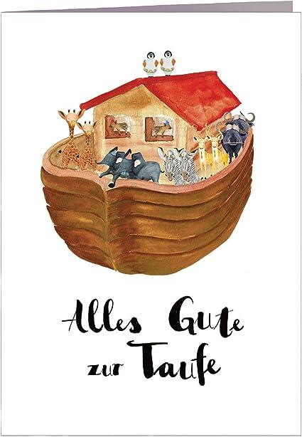 Karte Taufe Glückwunsch Zur Taufe Handmade In Hamburg Din A6 Mit Umschlag