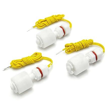 Gikfun EK1373x3U - Juego de 3 interruptores de Nivel líquido con Sensor de Nivel (plástico