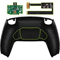 eXtremeRate Textured Black Programable Rise Remap Kit for PS5 Controller, Upgrade Board & Redesigned Back Shell & Back…