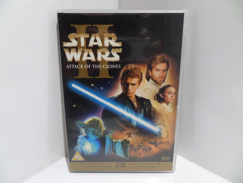Star Wars Ep.2-Attack Of Clones [Reino Unido] [DVD]: Amazon ...