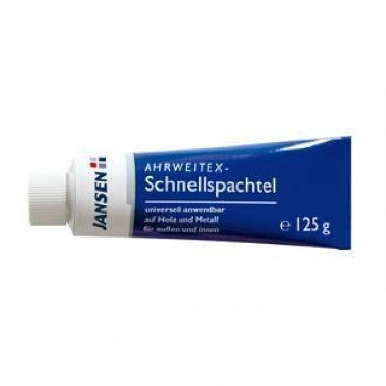 JANSEN Ahrweitex Schnellspachtel 125g Kunstoff-Spachtel Holz Metall Lackspachtel