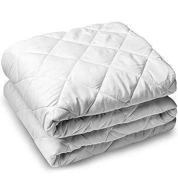 cooling mattress pad twin Amazon.com: Bare Home Quilted Fitted Mattress Pad   Cooling  cooling mattress pad twin