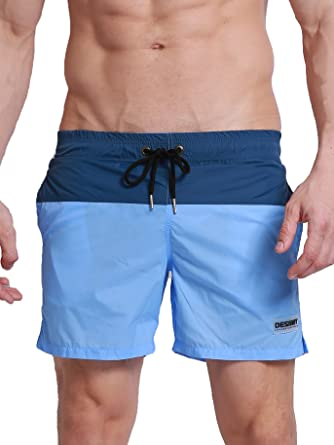 Men's Clothing Shorts Lower Price with Mens Swimming Shorts Trunks Board Mesh Lined Zip Pockets Summer Beach Holiday By Scientific Process