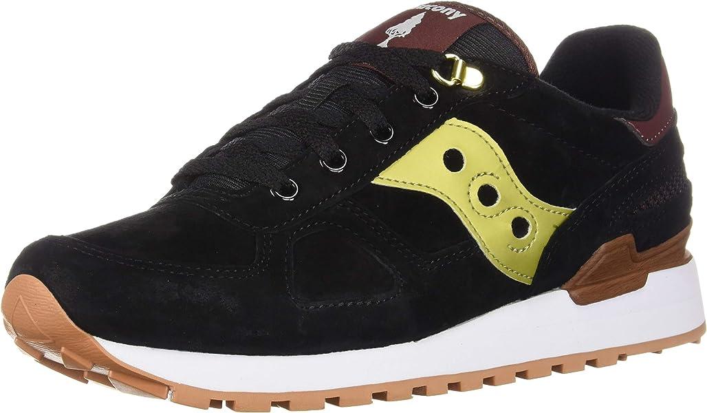 reputable site 7096c 007aa Amazon.com   Saucony Shadow Original Suede Ranger Men 7 - Black   Fashion  Sneakers
