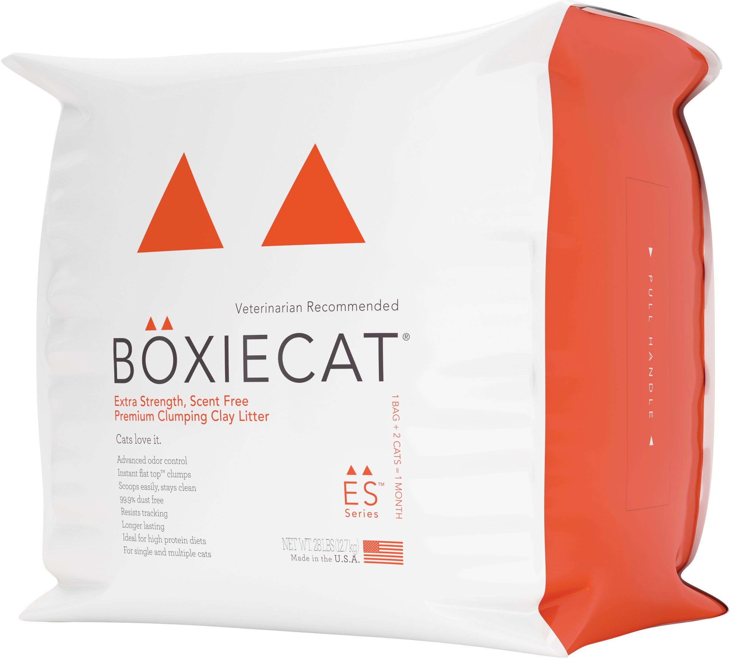 Boxiecat Extra Strength Premium Clumping Clay Cat Litter, 28 lb by Boxiecat