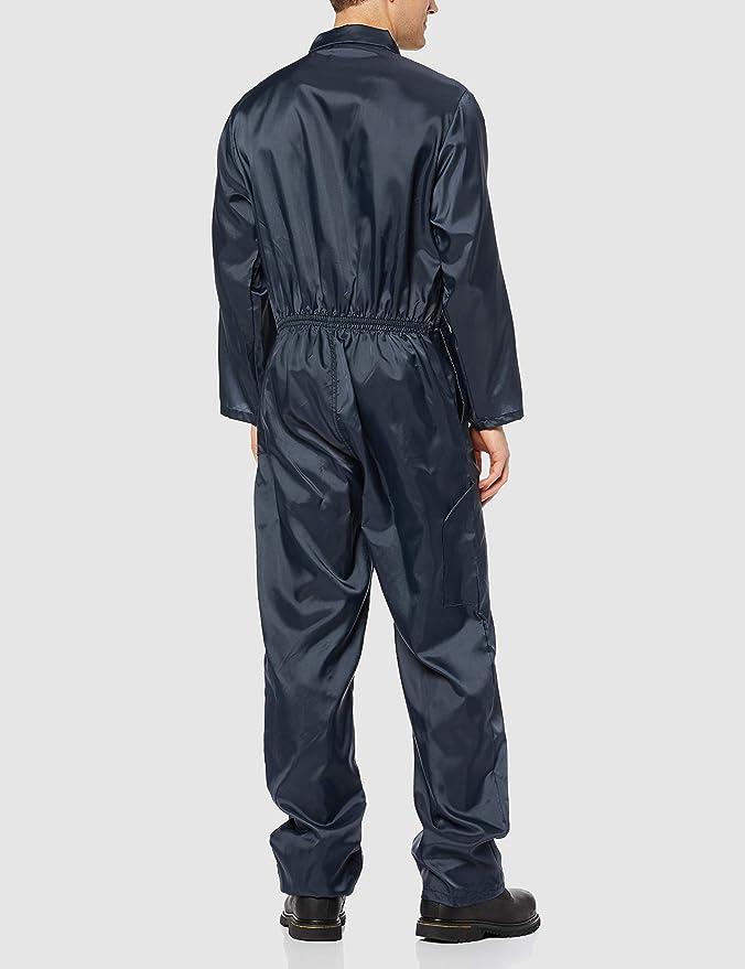 Portwest Nylon Boilersuit Con Cremallera Elástico en la cintura Mono Mono Workwear C803