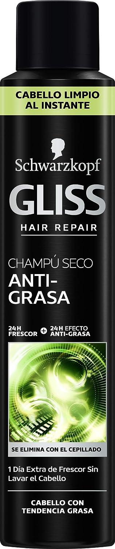 Schwarzkopf Gliss Champú seco anti-grasa - 200 ml
