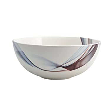 Mikasa Kya Porcelain Vegetable Bowl, 9.25-Inch