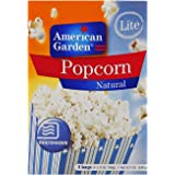 American Garden Microwave Popcorn Natural Light - 240 gm