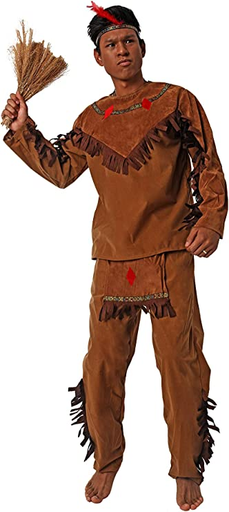 Costumizate! Disfraz de Indio Adulto Especial para Fiestas de ...