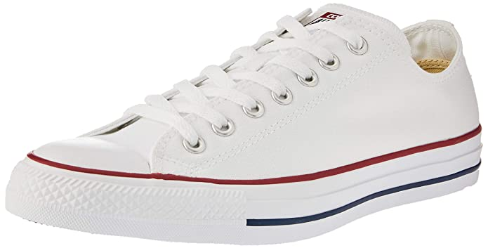 Converse Chucks All Star Low Top Sneaker Damen Herren Unisex Weiß