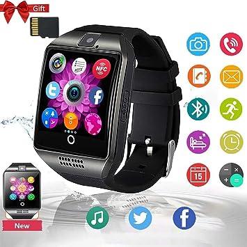 Smartwatch, Reloj Inteligente con Bluetooth, Monitor de sueño ...