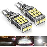 Rayhoo 1100 lumens Extremely Bright 921 912 LED Backup Light Bulbs Canbus Error Free T15 906 W16W socket 21pcs 3020PX…