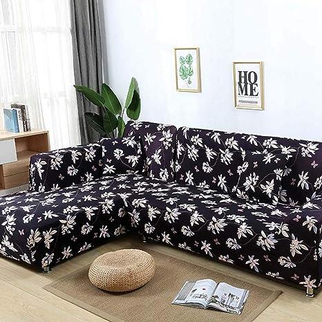 Astonishing Amazon Com Tongbf All Inclusive Stretch Fabric Sectional Frankydiablos Diy Chair Ideas Frankydiabloscom