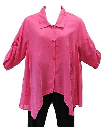 7c477fd9736 Bleu Bayou Women s Cross Back Tunic Plus Size at Amazon Women s Clothing  store