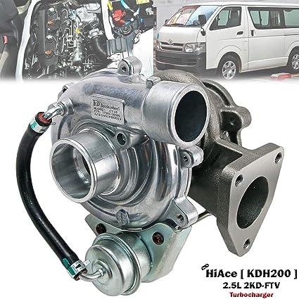Amazon com: Turbo Turbocharger For Toyota HiAce Van KDH200