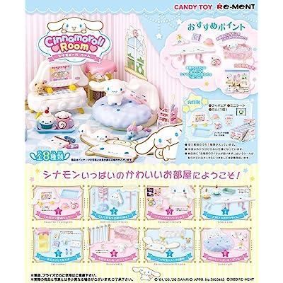 Re-Ment Miniature Sanrio Cinnamoroll Room Furniture Full Set 8 Packs: Toys & Games