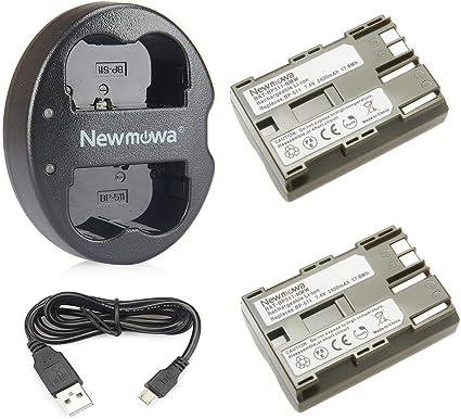 Newmowa Ersatz Akku Bp 511 Und Tragbar Micro Usb Kamera