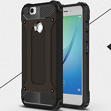 Huawei P10Lite/NovaLite Case, Super Cool Shield UltraSlim Dual Layer Hybrid Shockproof Armour Funda, TAITOU New Outdoor Sport Anti Scratch Armor Protect Case For Huawei P10 Lite/Nova Lite Black: Amazon.es: Electrónica