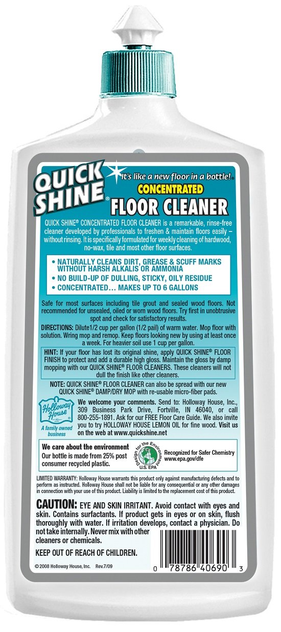 Superb Amazon.com   Quick Shine Concentrated Floor Cleaner   Floor Polishing  Machines