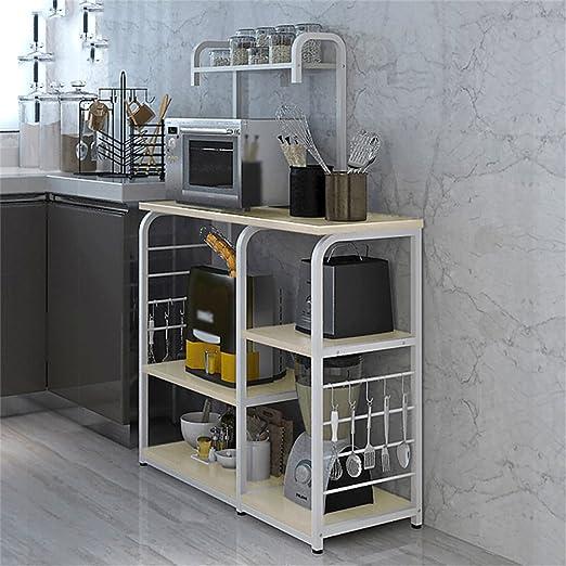 Muebles de cocina Estante de horno de microondas Estante de ...